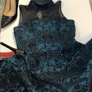 Trixxi velvet dress